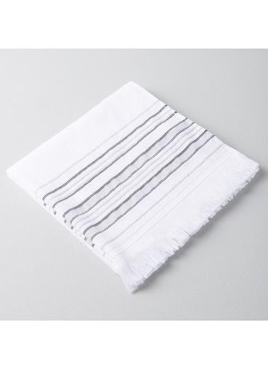 Chakra Derin Havlu 50*90 Beyaz